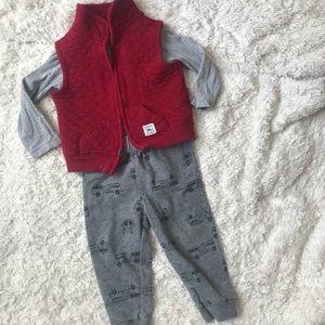 Carters 3 Piece Set - Baby Boys - Size 18M